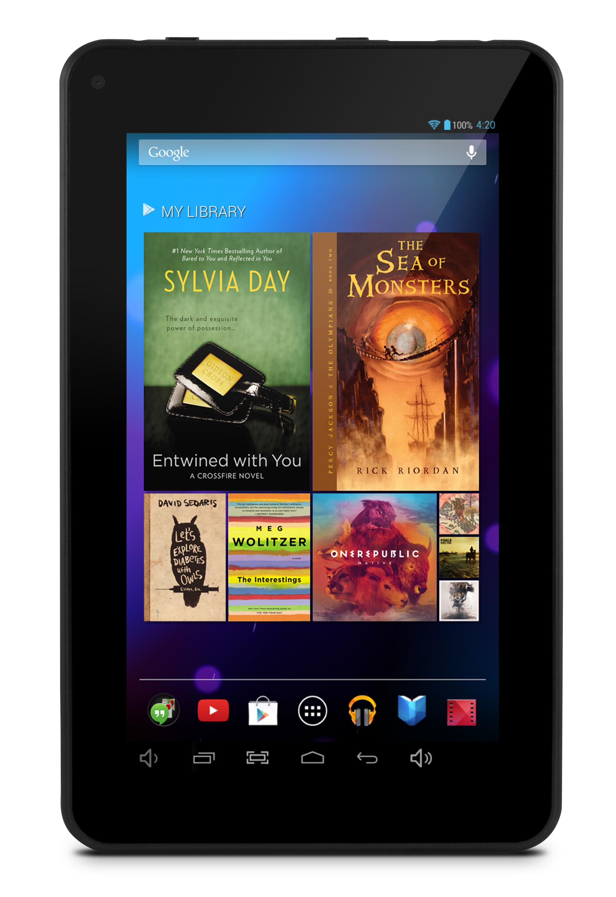 ematic 7 google android 4 2 quad core capacitive 8gb wifi. Black Bedroom Furniture Sets. Home Design Ideas