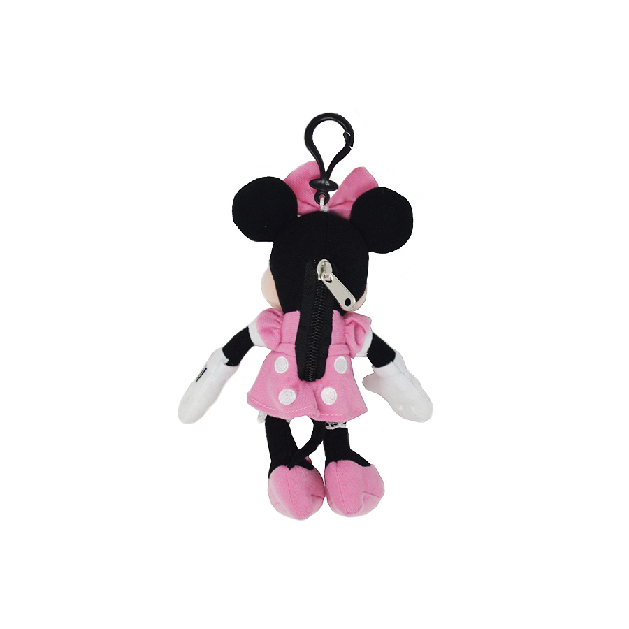 Cartoon-Plush-Coin-Clip-Toy-Bag-with-Zipper-for-Backpacks-Multiple-Styles thumbnail 21