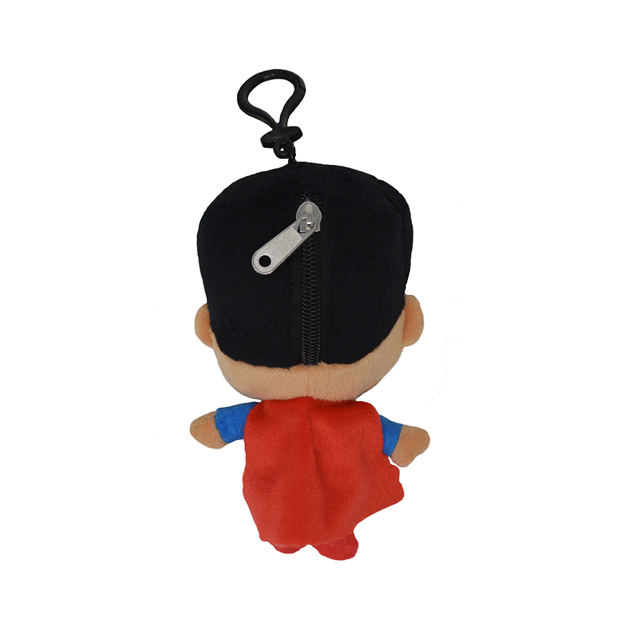 Cartoon-Plush-Coin-Clip-Toy-Bag-with-Zipper-for-Backpacks-Multiple-Styles thumbnail 34
