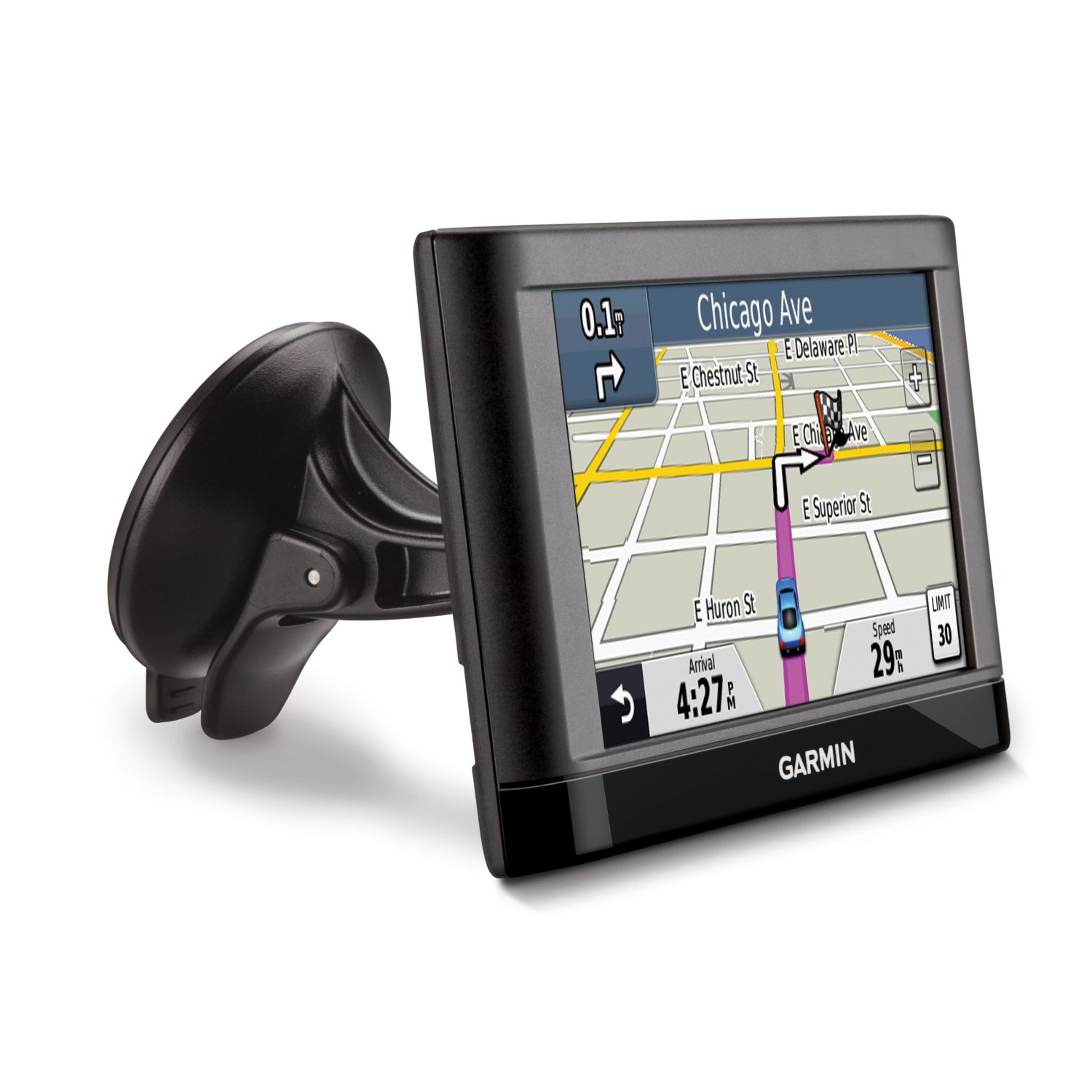 garmin nuvi 55lm 5 touchscreen car sat navigation gps w. Black Bedroom Furniture Sets. Home Design Ideas