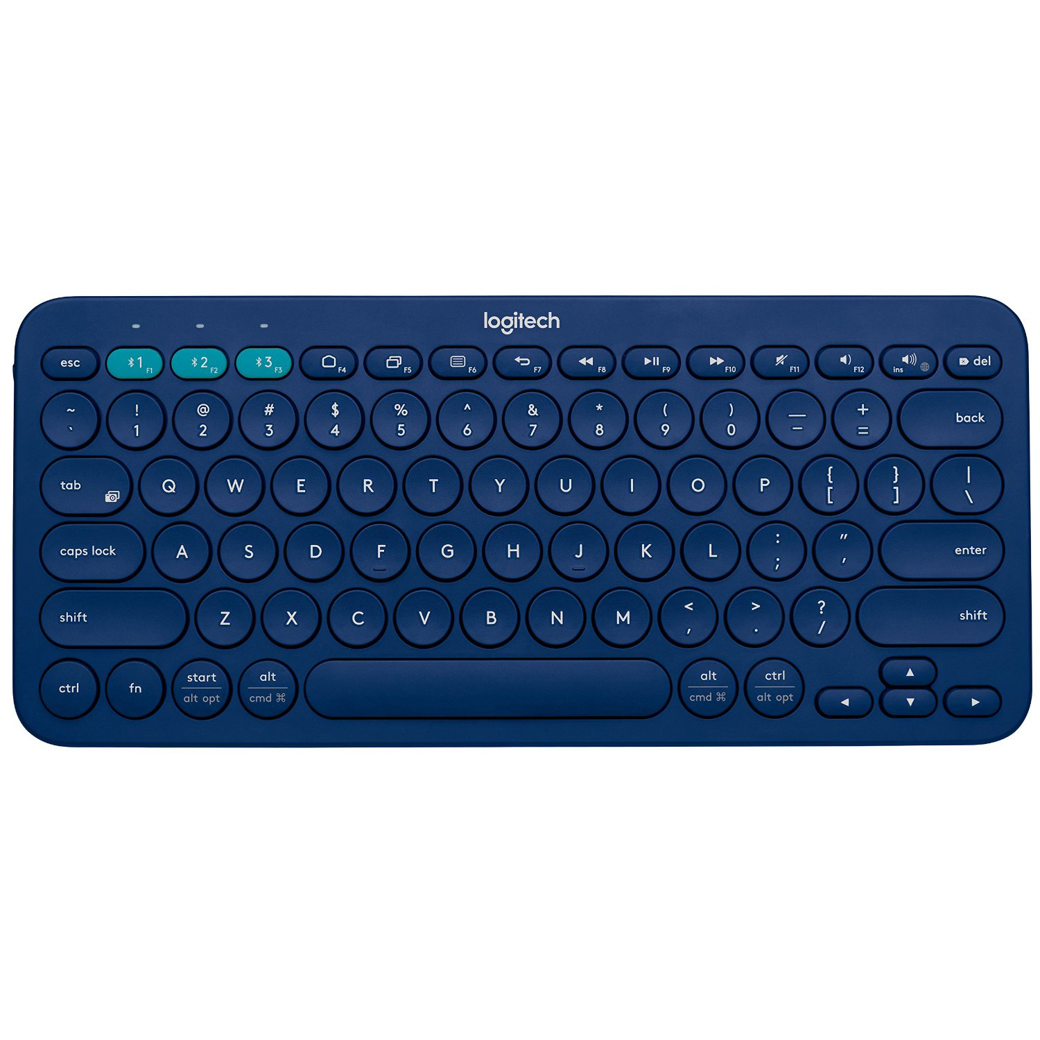 logitech k380 79 key compact slim multi device wireless bluetooth v3 0 keyboard ebay. Black Bedroom Furniture Sets. Home Design Ideas