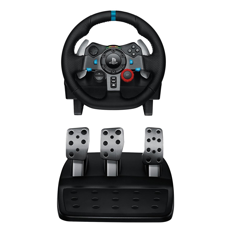 logitech g29 driving force racing wheel dual motor force. Black Bedroom Furniture Sets. Home Design Ideas