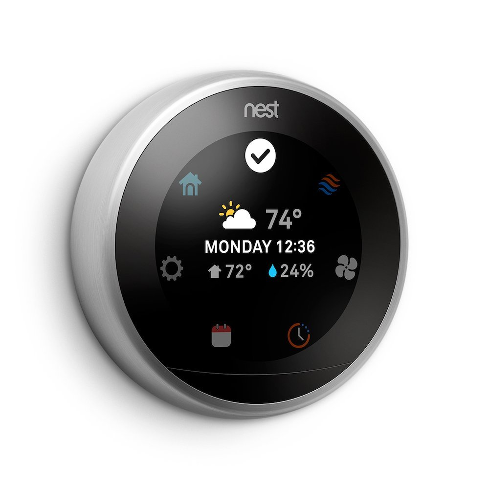 Details about Nest 3rd Generation Programmable WiFi Smart Learning  Thermostat - Grade B