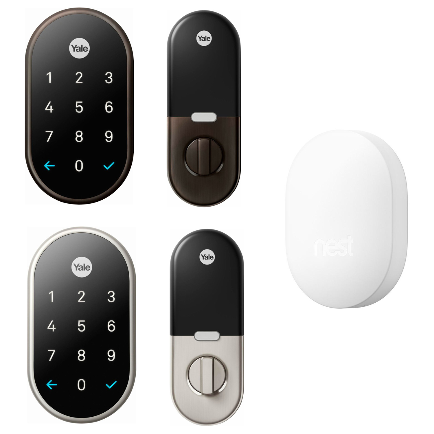 Details about Nest x Yale Smart Lock with Nest Connect