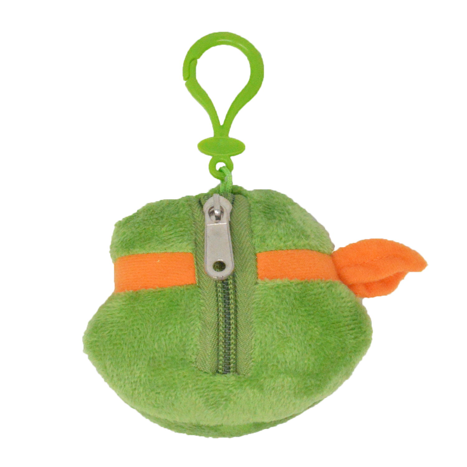 Cartoon-Plush-Coin-Clip-Toy-Bag-with-Zipper-for-Backpacks-Multiple-Styles thumbnail 38