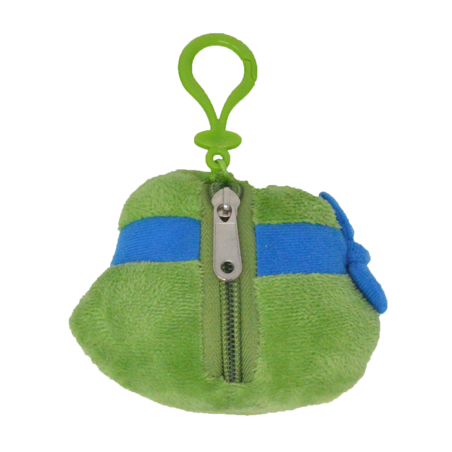 Cartoon-Plush-Coin-Clip-Toy-Bag-with-Zipper-for-Backpacks-Multiple-Styles thumbnail 36