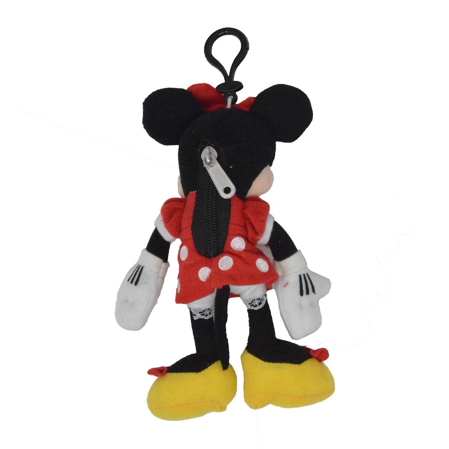 Cartoon-Plush-Coin-Clip-Toy-Bag-with-Zipper-for-Backpacks-Multiple-Styles thumbnail 19