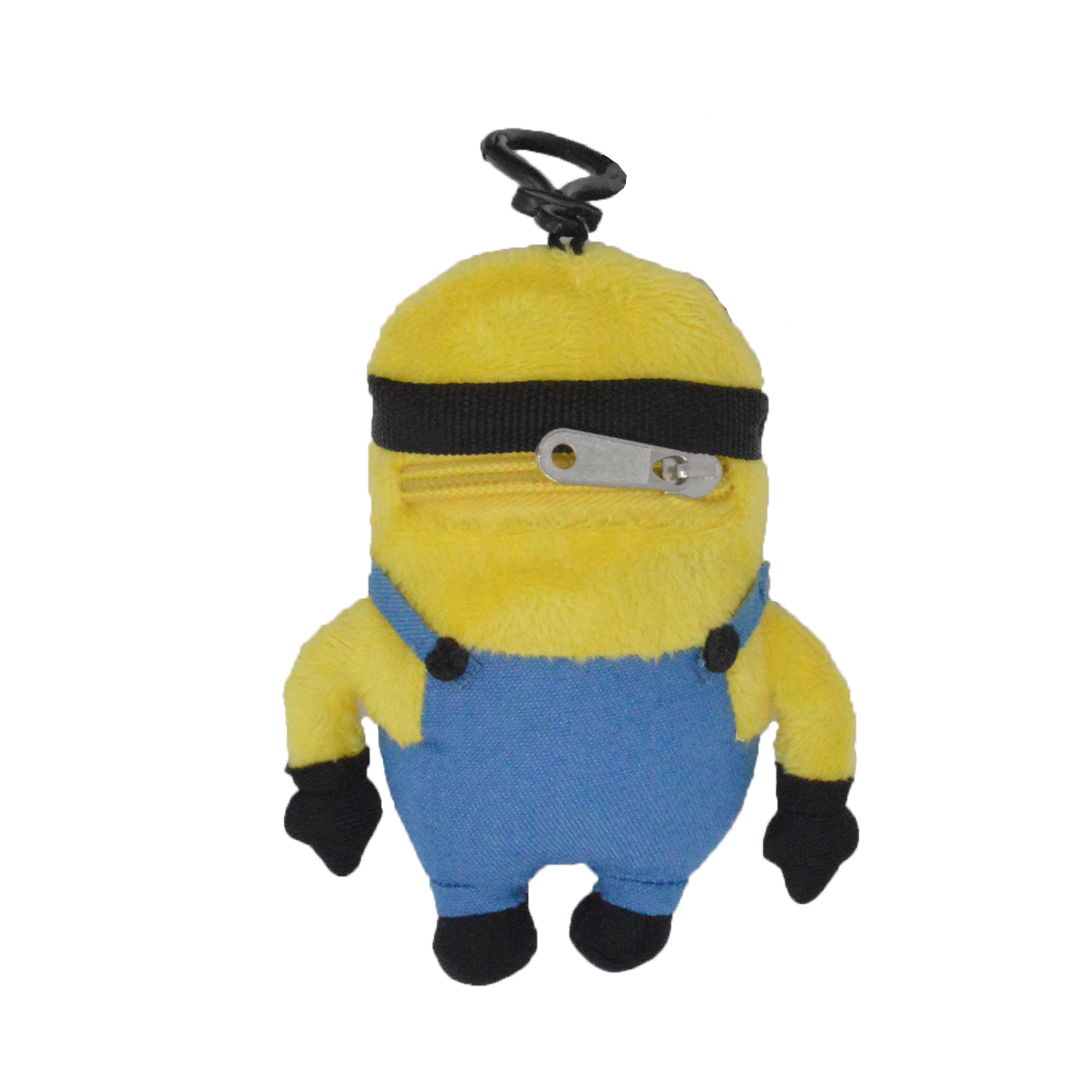 Cartoon-Plush-Coin-Clip-Toy-Bag-with-Zipper-for-Backpacks-Multiple-Styles thumbnail 15