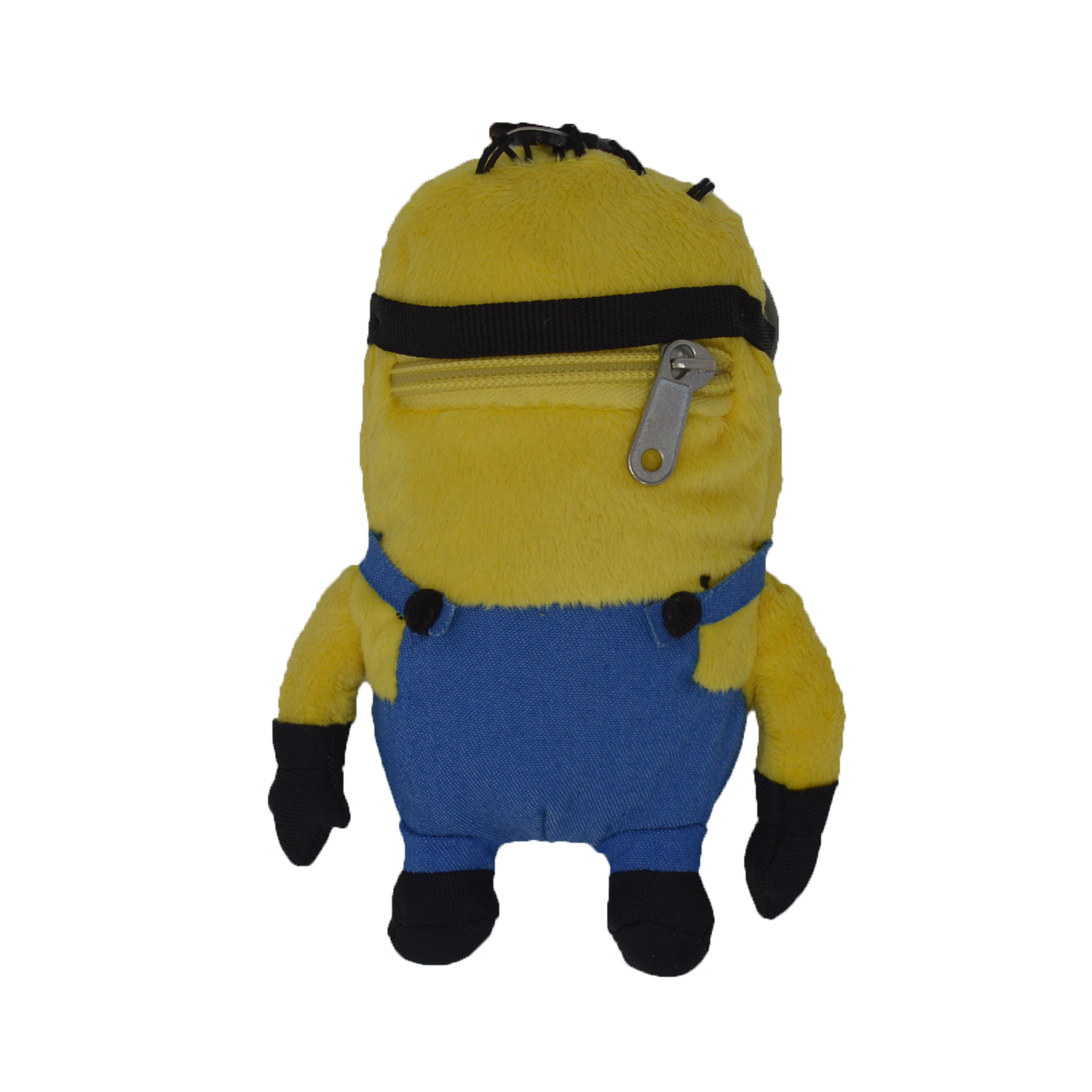 Cartoon-Plush-Coin-Clip-Toy-Bag-with-Zipper-for-Backpacks-Multiple-Styles thumbnail 10