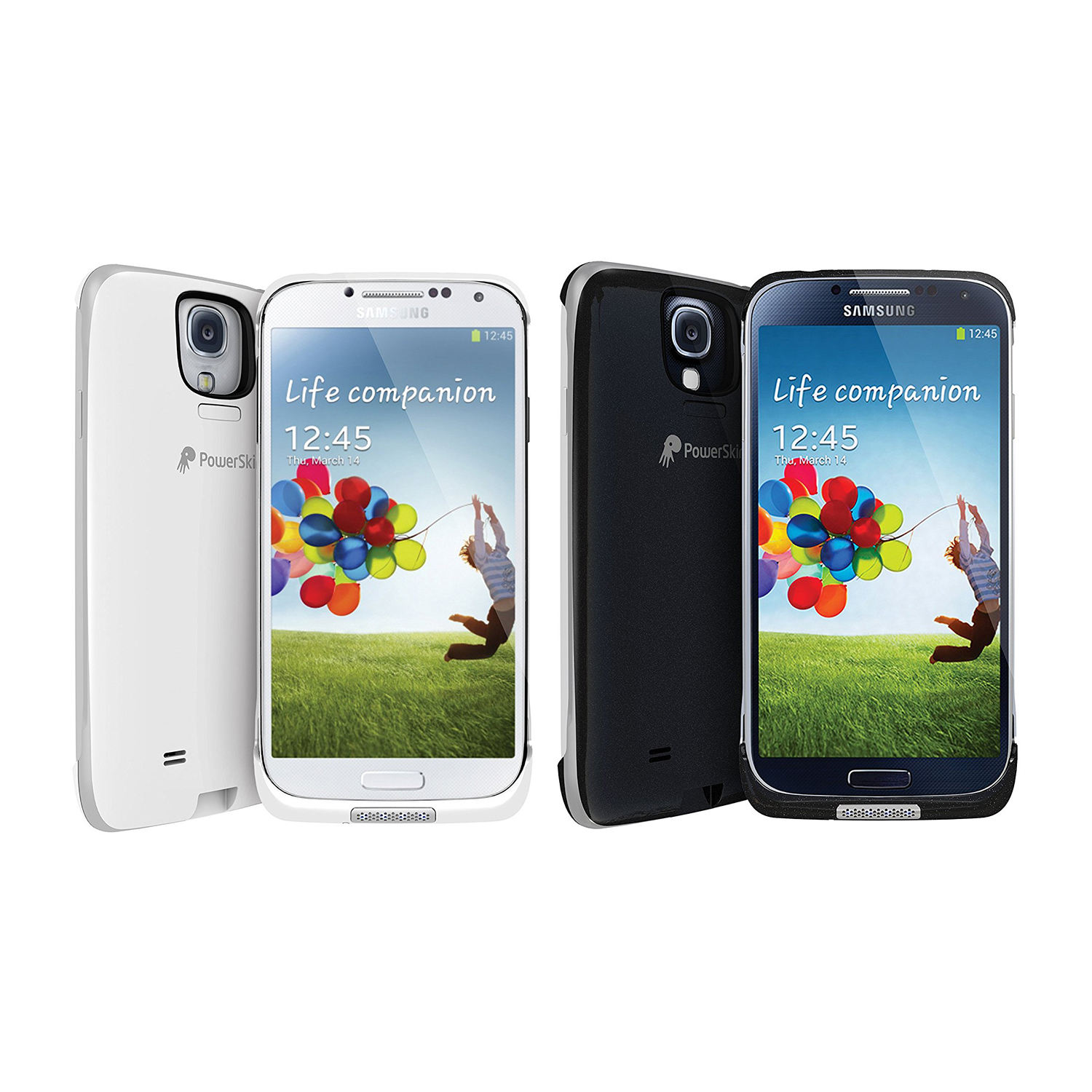 cheap for discount 0235d 6d788 Details about PowerSkin Spare 1600mAh Rechargeable Extended Battery Case  for Samsung Galaxy S4