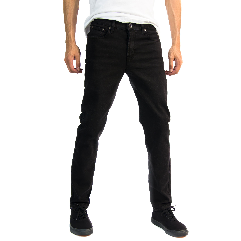 Alta-Designer-Fashion-Mens-Slim-Fit-Skinny-Denim-Jeans-Multiple-Colors-amp-Sizes thumbnail 3