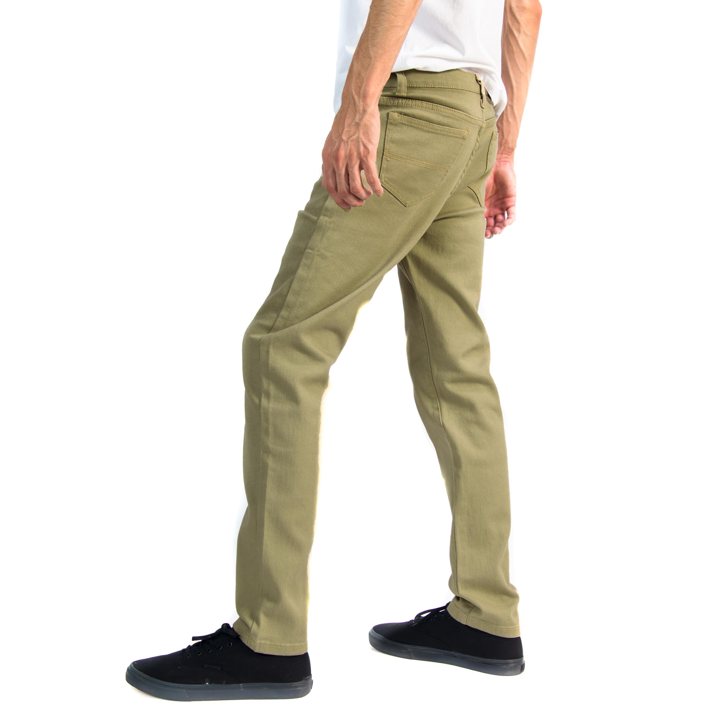 Alta-Designer-Fashion-Mens-Slim-Fit-Skinny-Denim-Jeans-Multiple-Colors-amp-Sizes thumbnail 19