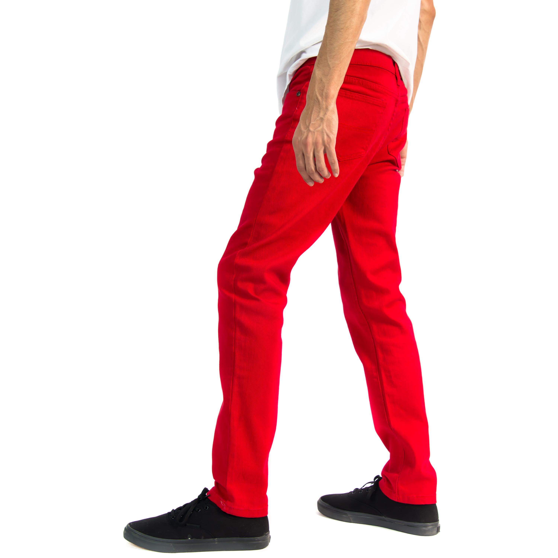 Alta-Designer-Fashion-Mens-Slim-Fit-Skinny-Denim-Jeans-Multiple-Colors-amp-Sizes thumbnail 48