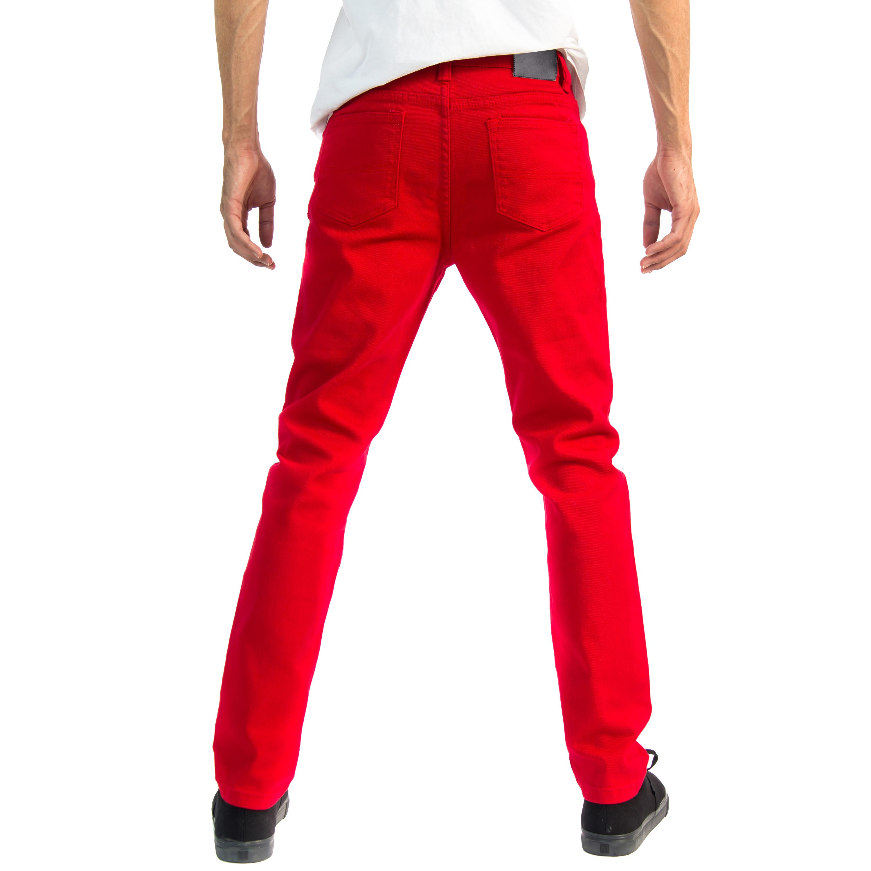 Alta-Designer-Fashion-Mens-Slim-Fit-Skinny-Denim-Jeans-Multiple-Colors-amp-Sizes thumbnail 46