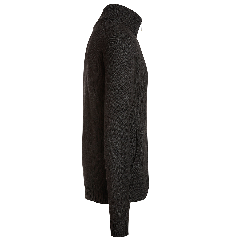 Alta-Men-039-s-Casual-Long-Sleeve-Full-Zip-Mock-Neck-Sweater-Jacket thumbnail 4