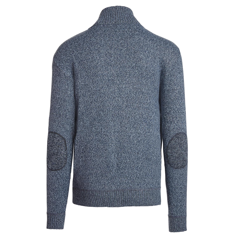 Alta-Men-039-s-Casual-Long-Sleeve-Full-Zip-Mock-Neck-Sweater-Jacket thumbnail 8