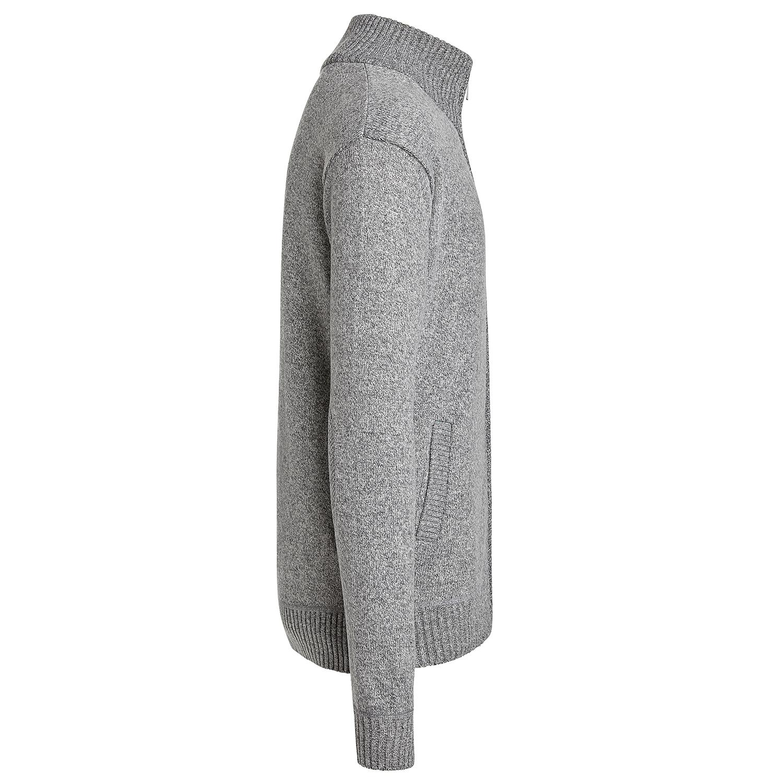 Alta-Men-039-s-Casual-Long-Sleeve-Full-Zip-Mock-Neck-Sweater-Jacket thumbnail 10
