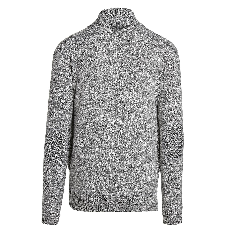 Alta-Men-039-s-Casual-Long-Sleeve-Full-Zip-Mock-Neck-Sweater-Jacket thumbnail 11
