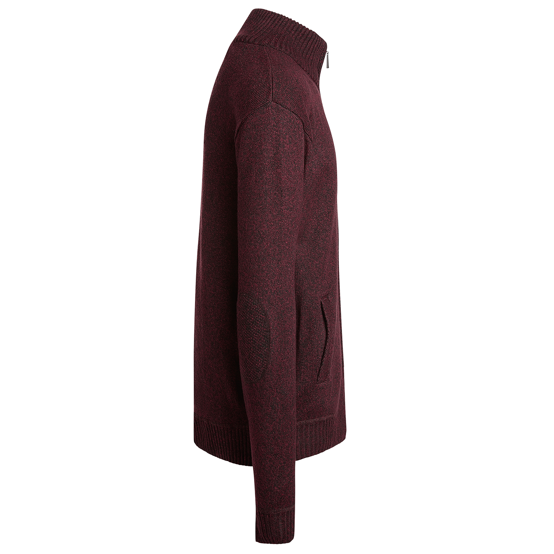 Alta-Men-039-s-Casual-Long-Sleeve-Full-Zip-Mock-Neck-Sweater-Jacket thumbnail 13