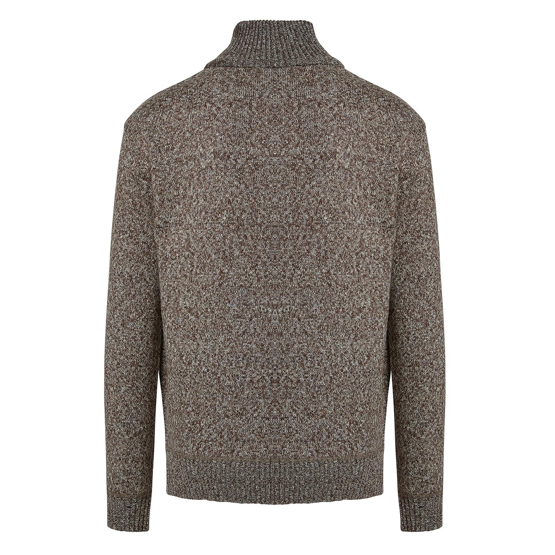 Alta-Men-039-s-Casual-Fleece-Lined-Half-Zip-Sweater-Jacket thumbnail 5