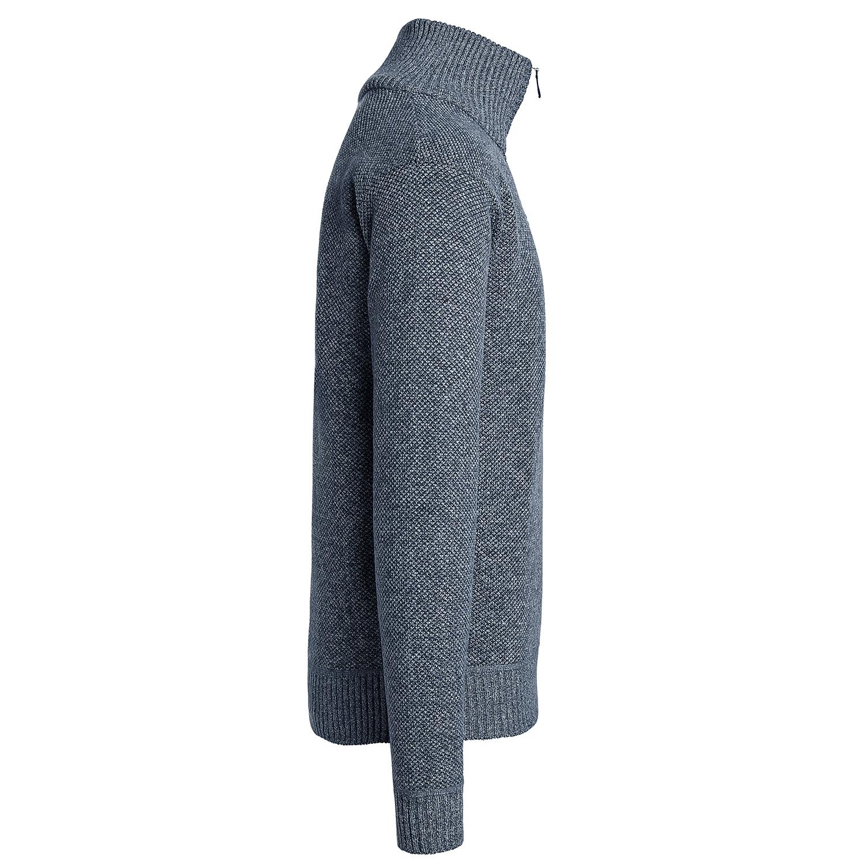 Alta-Men-039-s-Casual-Fleece-Lined-Half-Zip-Sweater-Jacket thumbnail 13