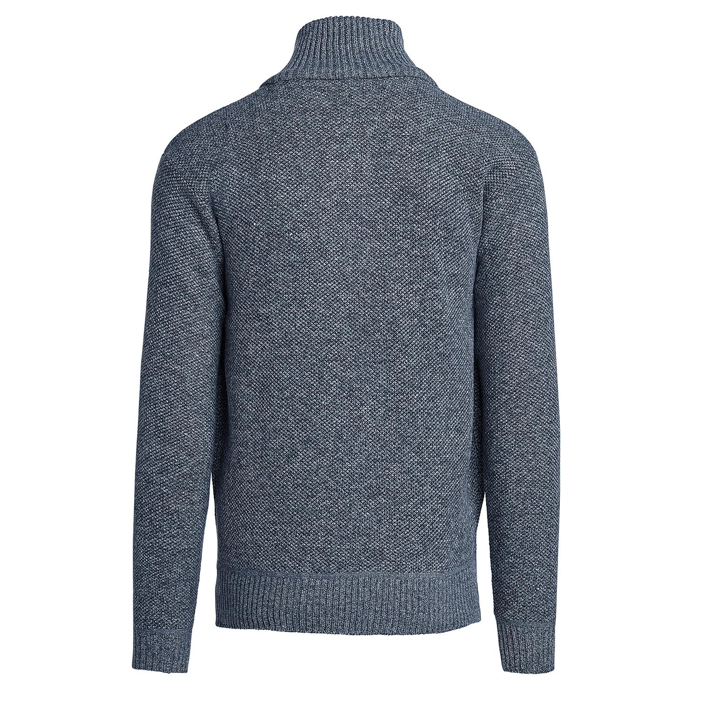 Alta-Men-039-s-Casual-Fleece-Lined-Half-Zip-Sweater-Jacket thumbnail 14