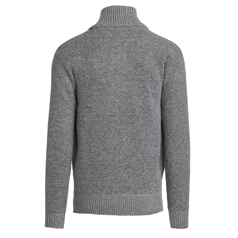 Alta-Men-039-s-Casual-Fleece-Lined-Half-Zip-Sweater-Jacket thumbnail 17