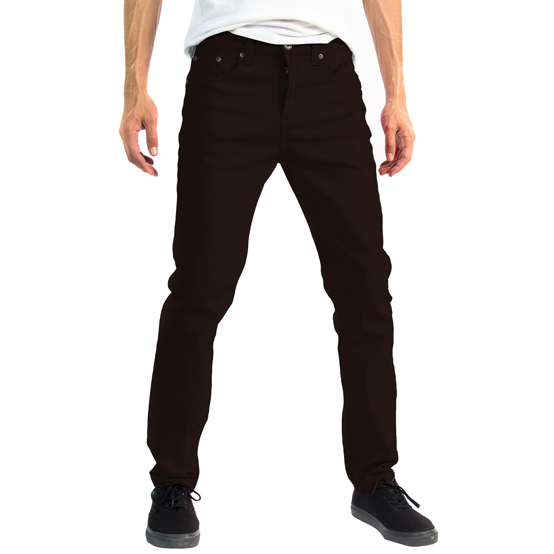 Alta-Designer-Fashion-Mens-Slim-Fit-Skinny-Denim-Jeans-Multiple-Colors-amp-Sizes thumbnail 11
