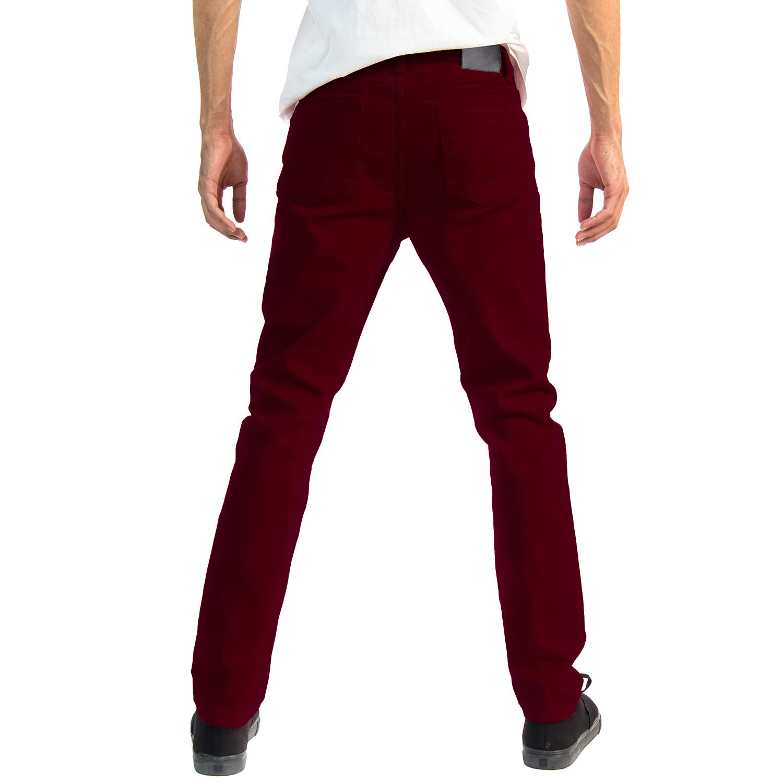 Alta-Designer-Fashion-Mens-Slim-Fit-Skinny-Denim-Jeans-Multiple-Colors-amp-Sizes thumbnail 40