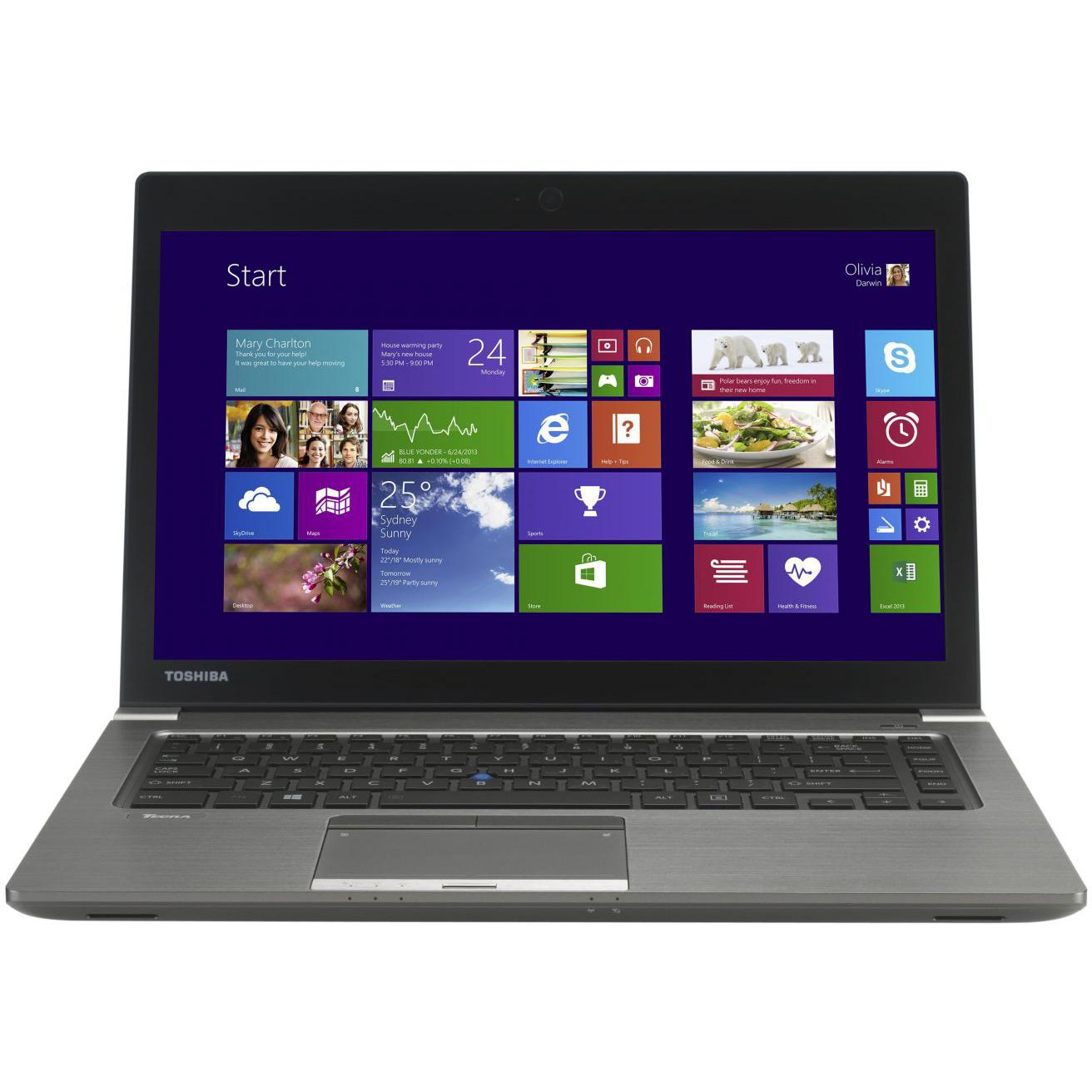 Toshiba Tecra Z40 A 14 Laptop Intel I7 4600U Dual Core 2