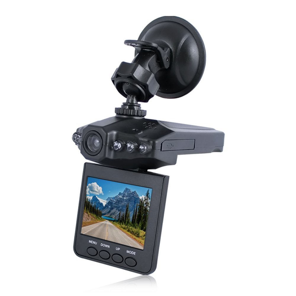 "Auto Vehicle 1280x960 Night Vision Dashcam 2.4"" LCD"