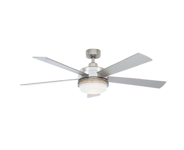Hampton Bay Sussex II 52 Brushed Nickel Ceiling Fan