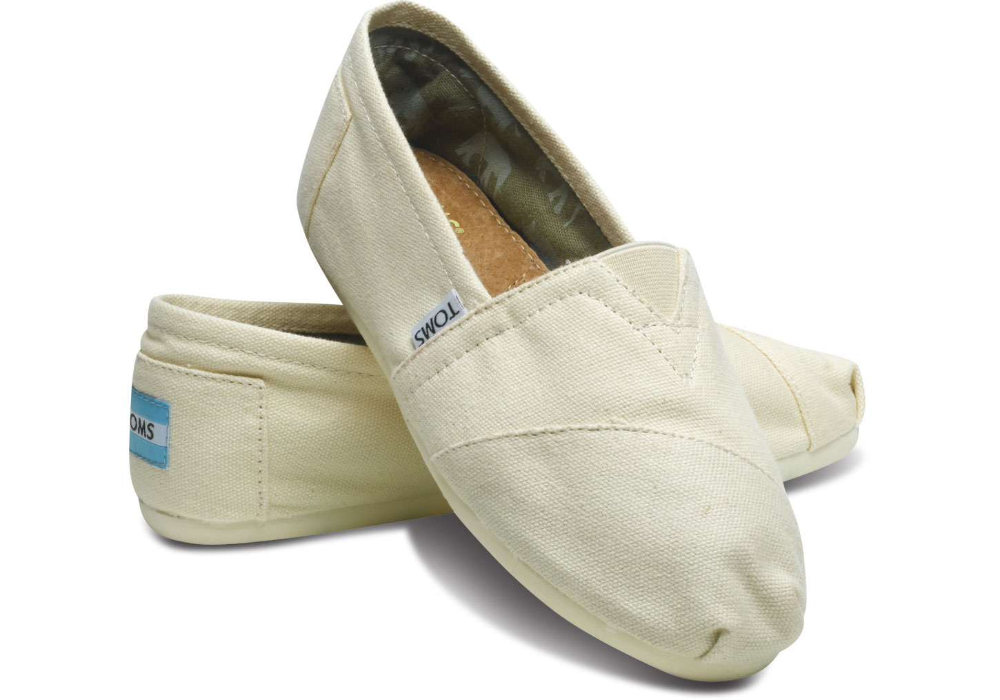 Slip On Canvas Shoes Wide