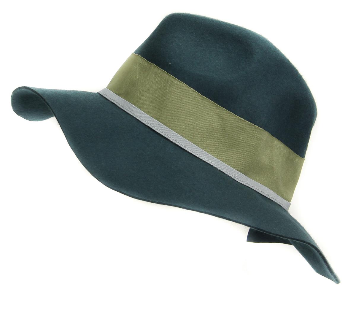 ... Picture 3 of 3. Aqua  HA122219BL Women s Wool Fedora Panama Hat One  Size Indian ... ca78e054e