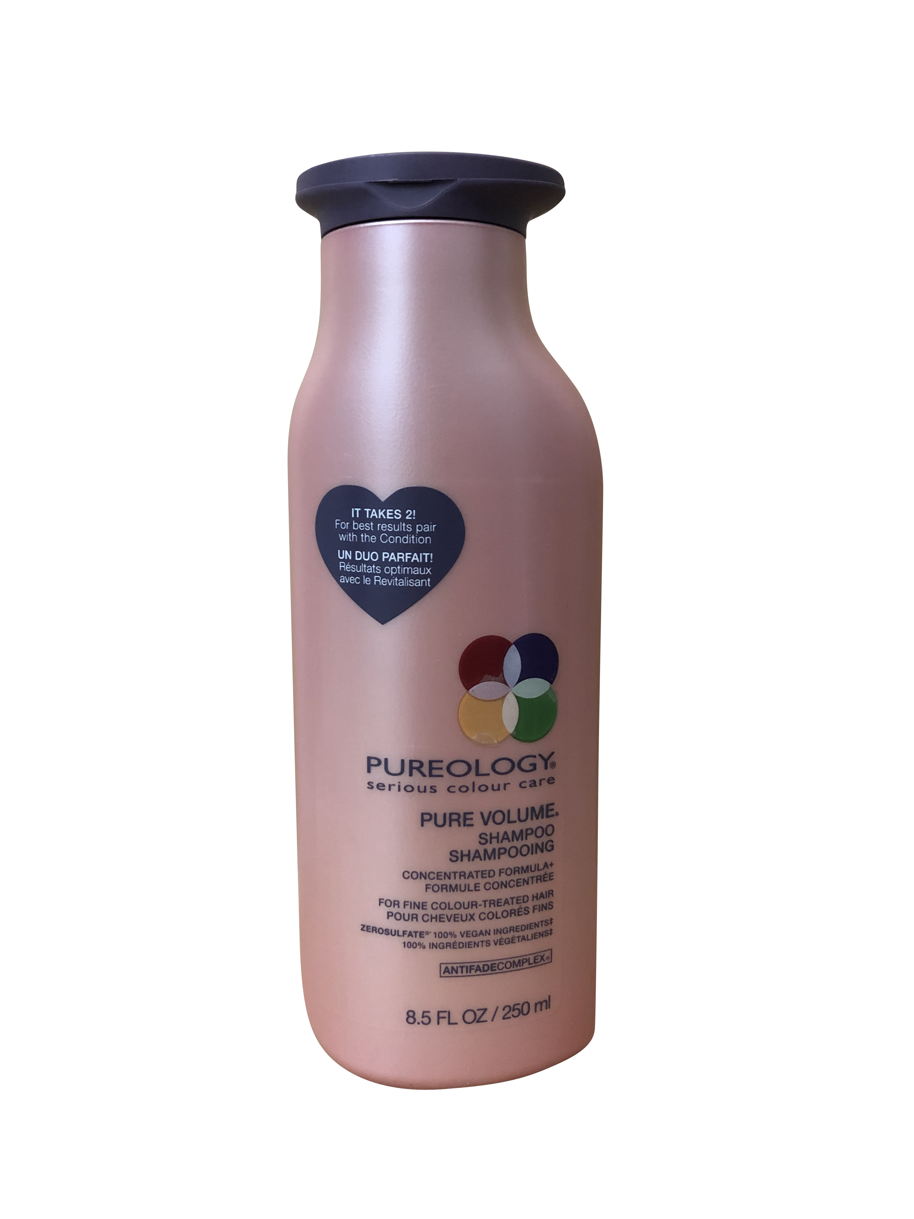 Pureology Pure Volume Shampoo Fine Color Treated Hair 8.5 ...