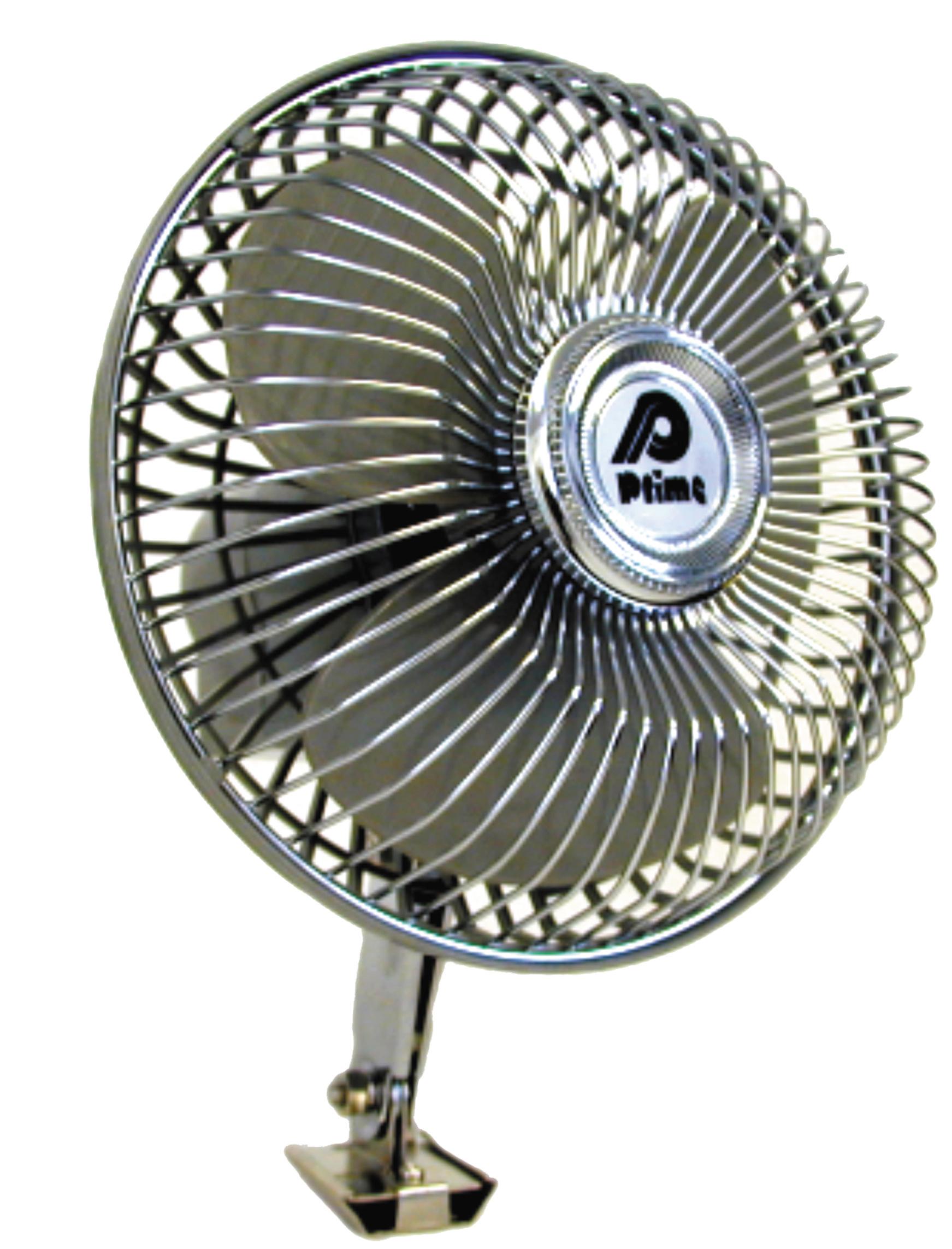 prime products 06 0600 12 volt oscillating fan. Black Bedroom Furniture Sets. Home Design Ideas