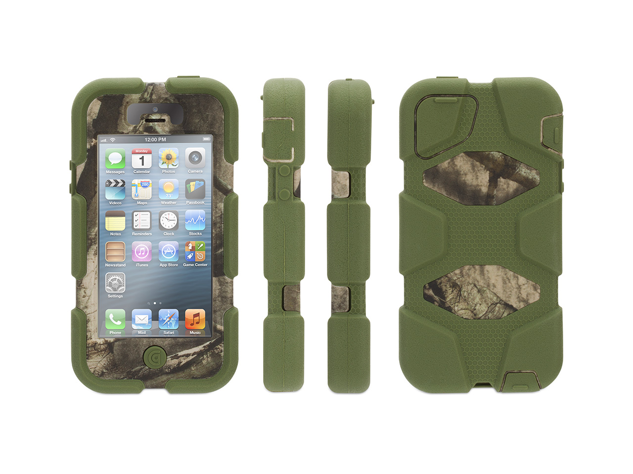 Griffin Iphone 5 5s Se Rugged Case Survivor All Terrain