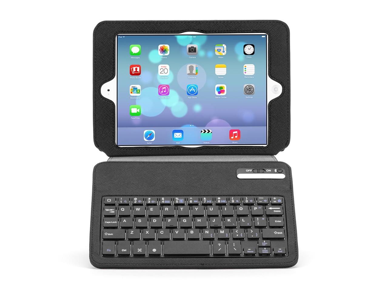 slim keyboard folio for ipad mini and ipad mini with. Black Bedroom Furniture Sets. Home Design Ideas