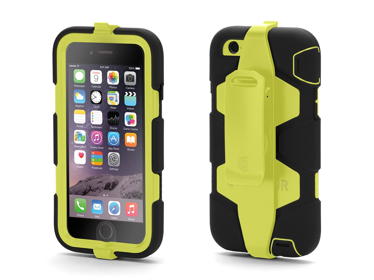 Iphone 6 Phone Cases: Griffin IPhone 6/6s Rugged Case, Survivor All-Terrain