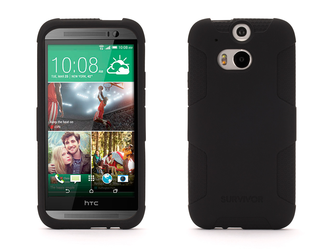 Survivor Skin Protective Case for HTC One (M8)