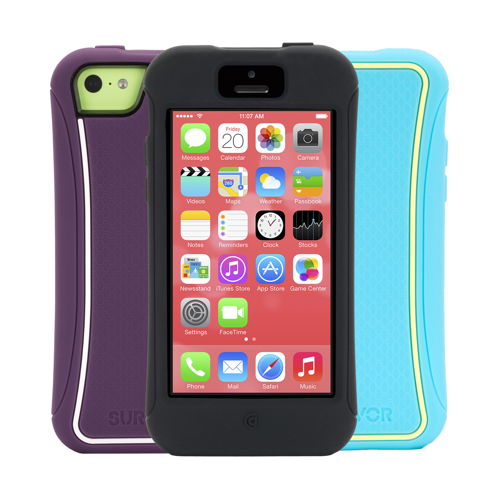 iphone 5 protective case griffin survivor slim protective for iphone 5c 14560