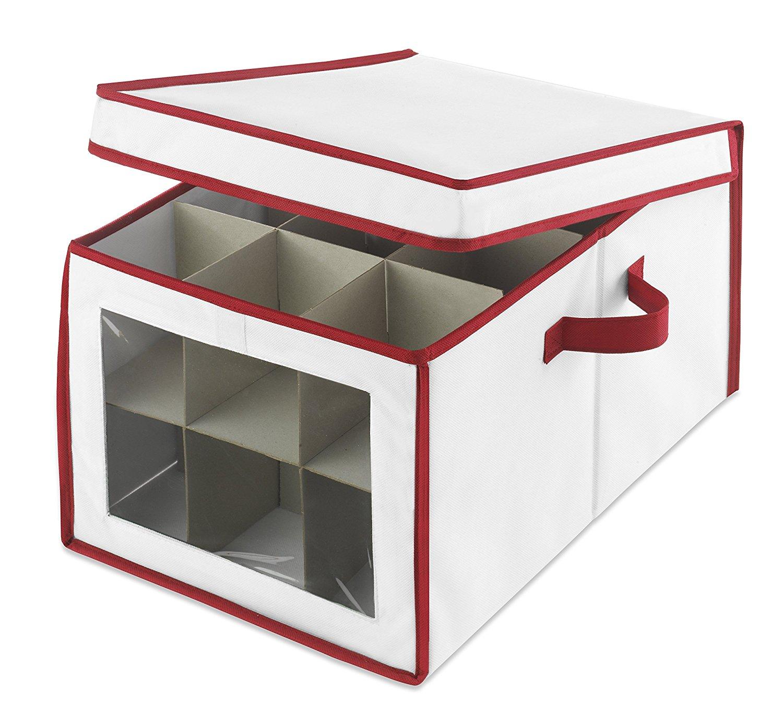 Whitmor Christmas Ornament Storage Box Ebay