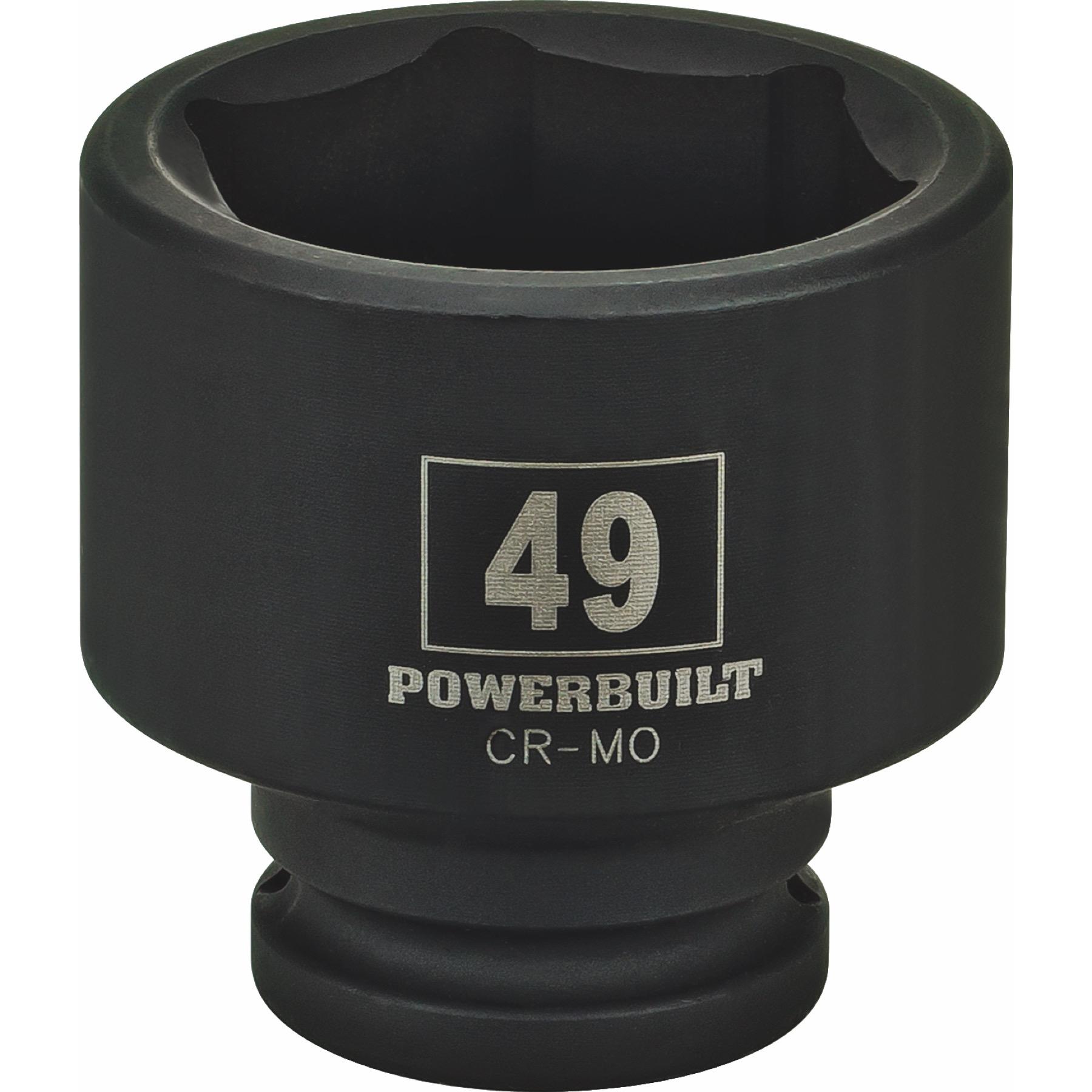 Draper Expert 5028 46mm 3//4-inch Square Drive Hi-Torq 6-Point Impact Socket