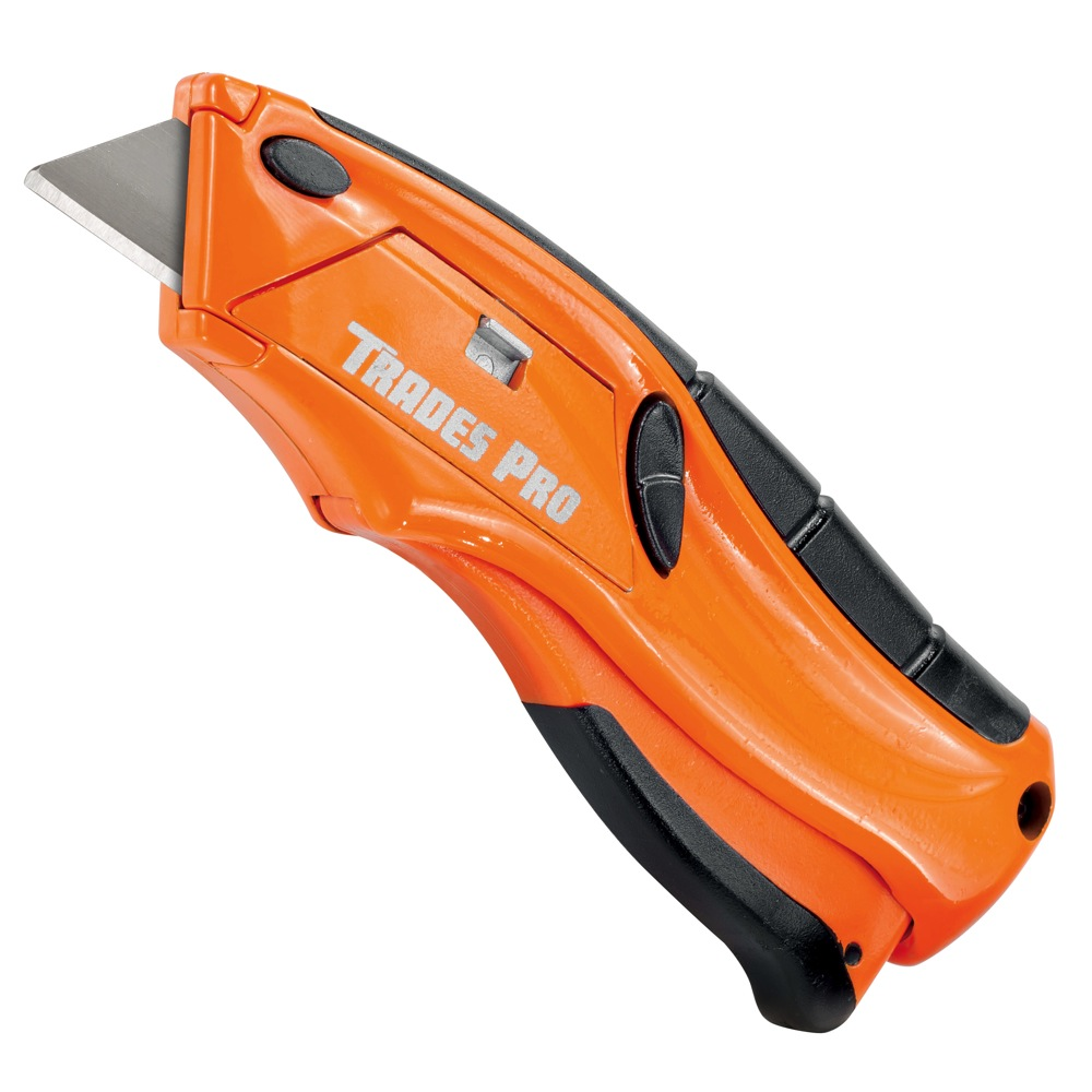 Trades Pro Quick Change Squeeze Knife, Safety Automatically Close - 838013 28907432151 | eBay