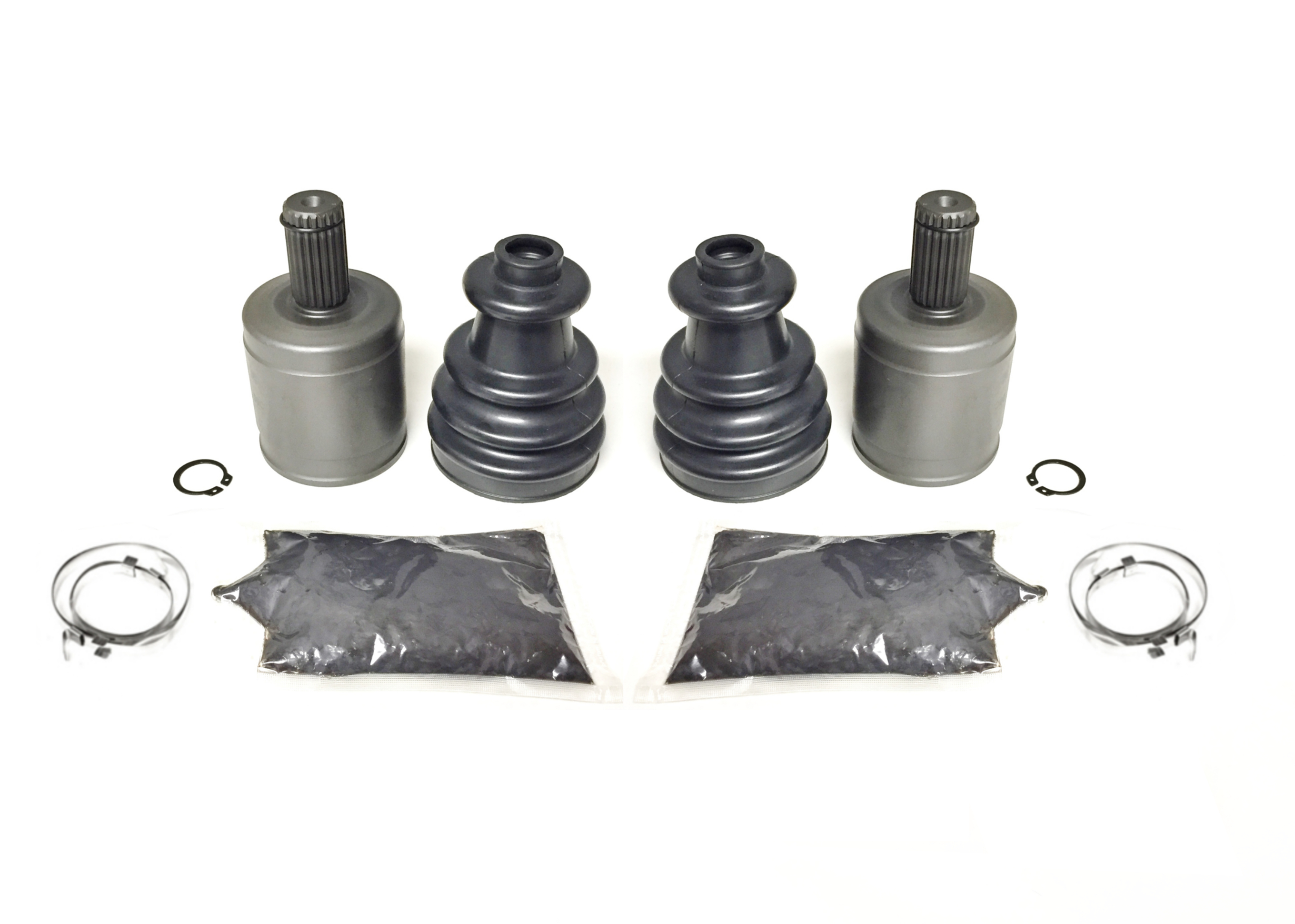 Right Inner U-Joint Pair Front Axle Left 2000-2002 Polaris Xpedition 325 4x4