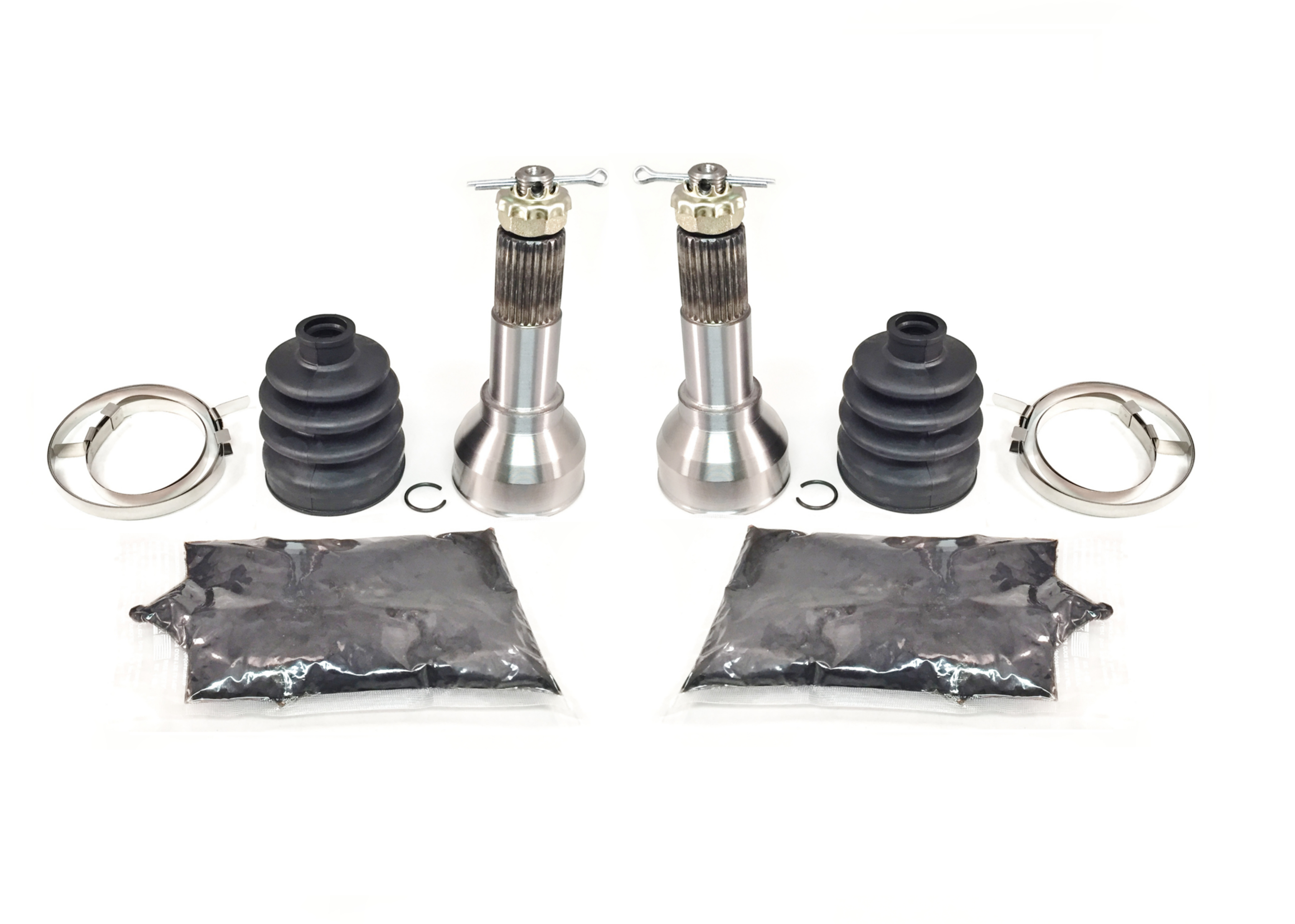 1998-2001 Polaris Sportsman 500 ATV Pair of Front Axle Outer CV Joint Kits