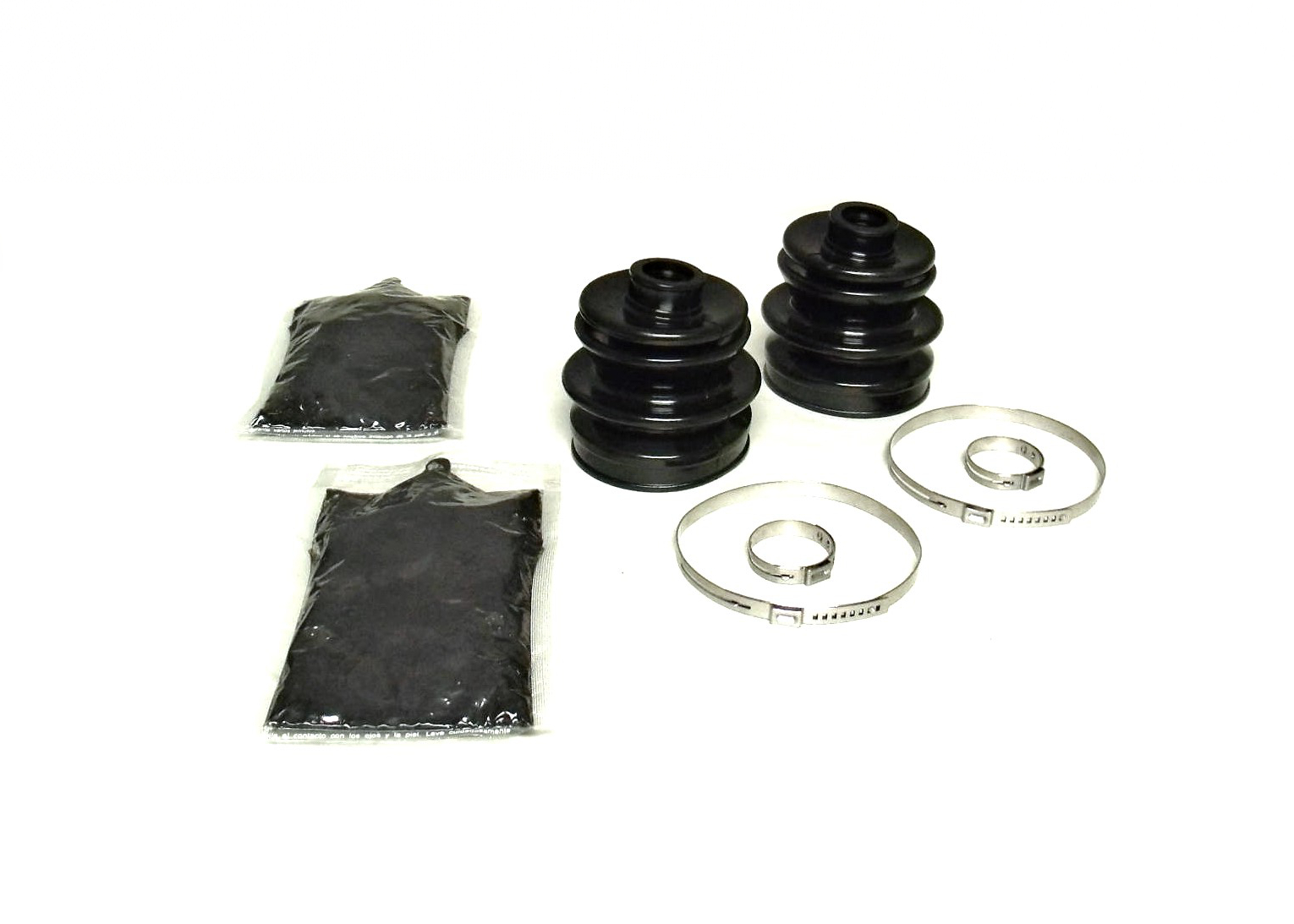 Set of Rear Axle Inner /& Outer CV Boot Kits 2009-2010 Arctic Cat 550 4x4 ATV