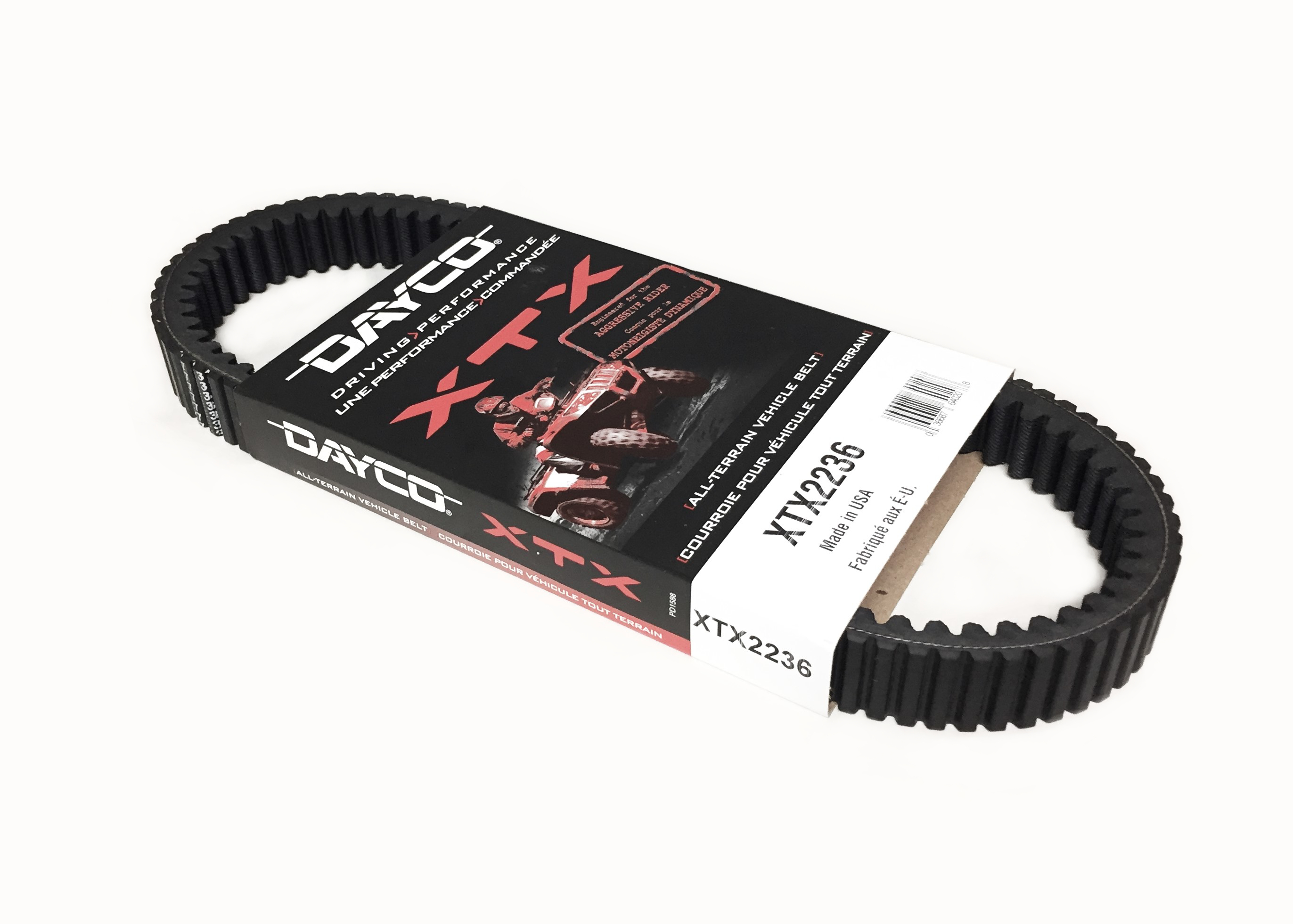 Made in USA Dayco XTX Drive Belt Replacement to Yamaha 5KM-17641-01-00