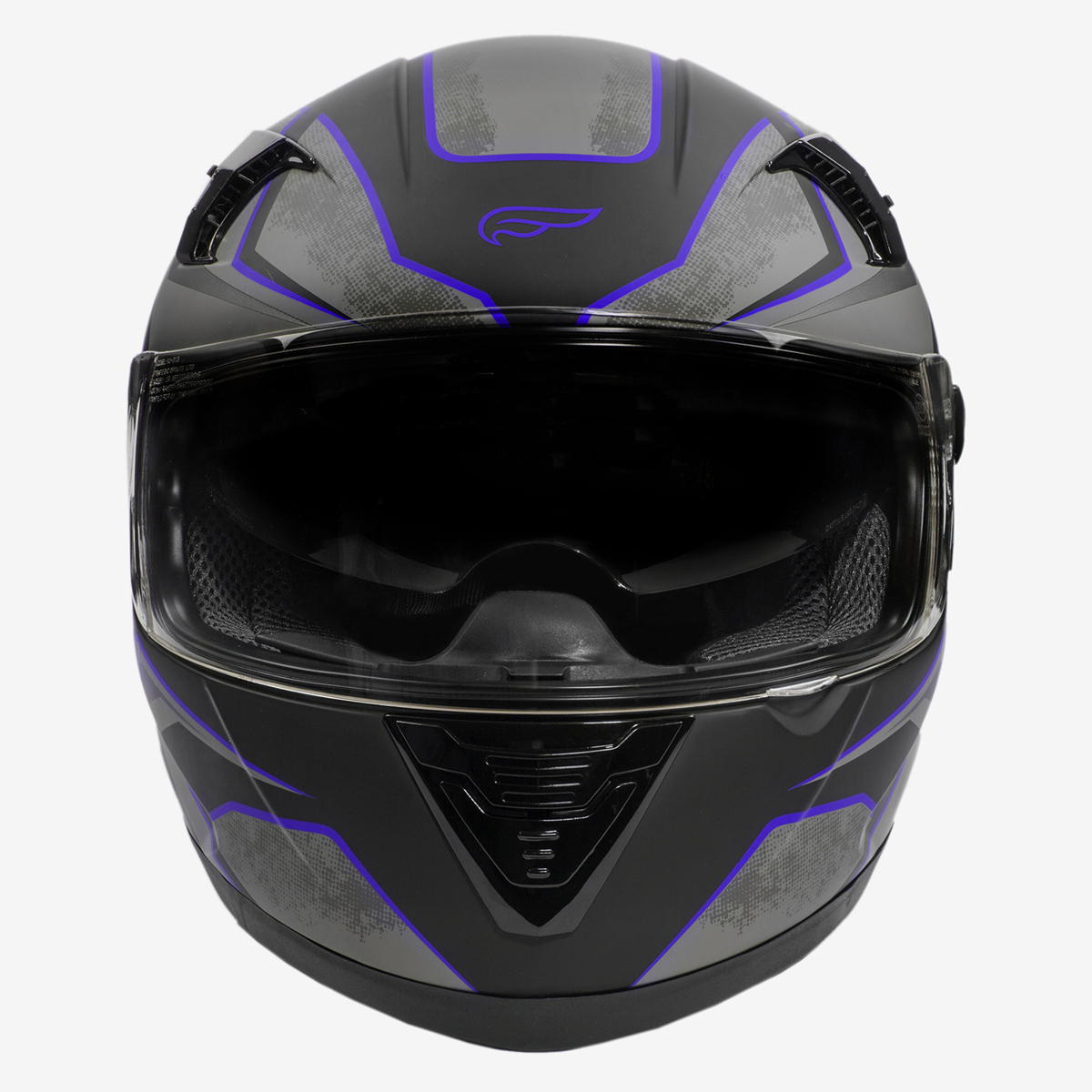 Fulmer-Adult-Full-Face-Motorcycle-Helmet-151-Pulse-DOT-Approved-Street-Bike thumbnail 8