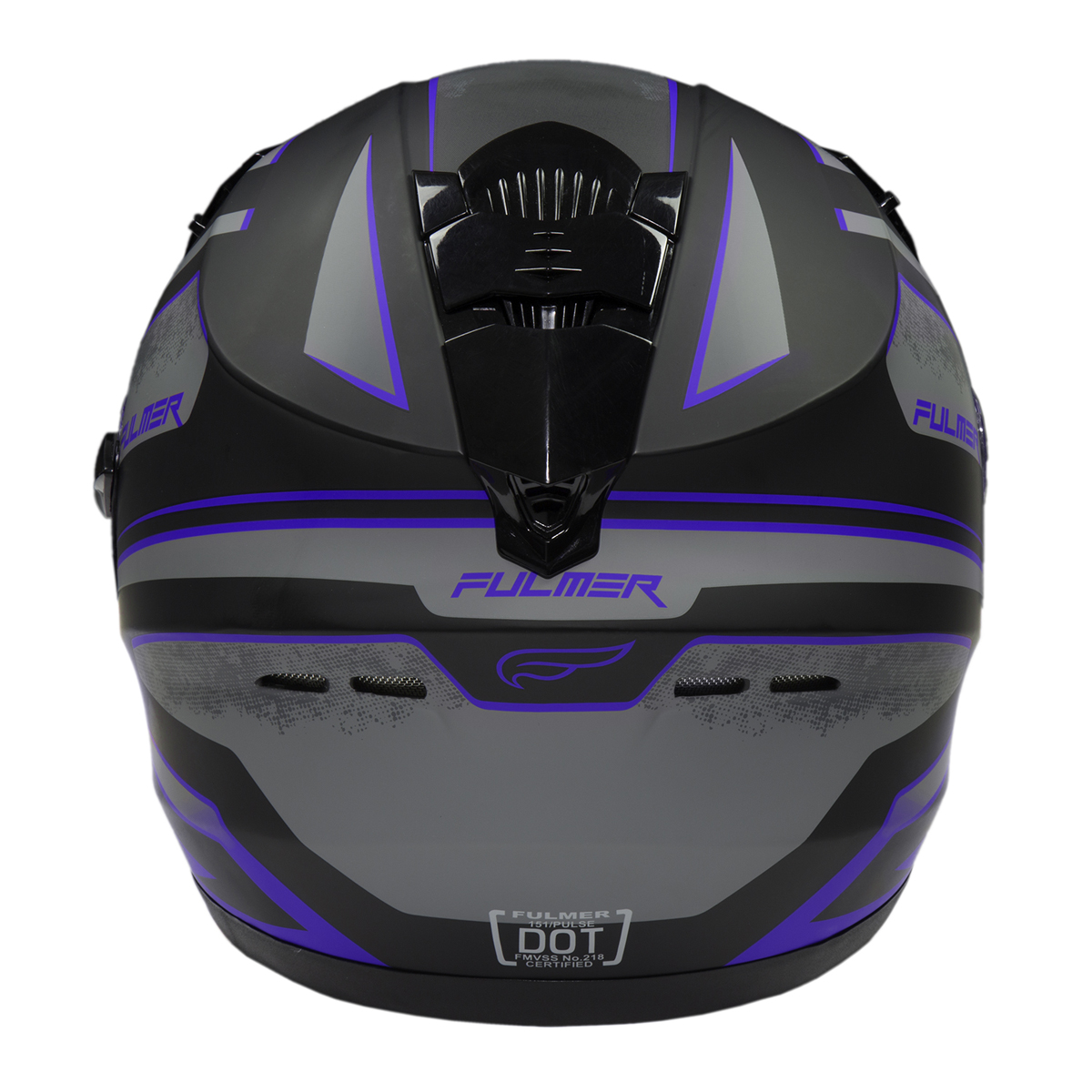 Fulmer-Adult-Full-Face-Motorcycle-Helmet-151-Pulse-DOT-Approved-Street-Bike thumbnail 9